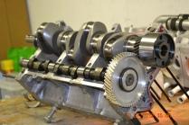 Panther Engine New 4340 Billet Crankshaft with single piece 5th bearing journal