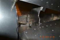 Vertical Tail mounting bracket - still needs a few bolts - ACS delivering today