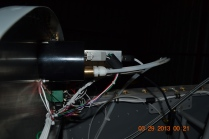 Pitot and static connection