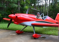Paul Dye - EIC of KITPLANES - Sporting the Panther Grin!