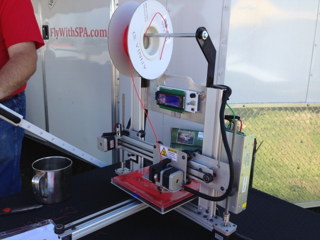 Pauls Amazing 3-D printer!