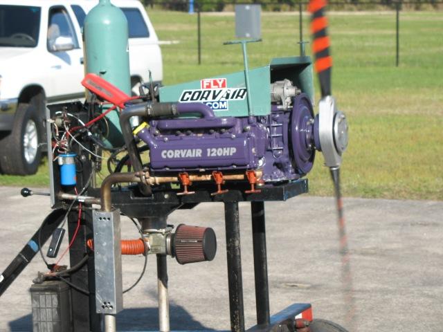 Sara Ashmore Corvair Engine!